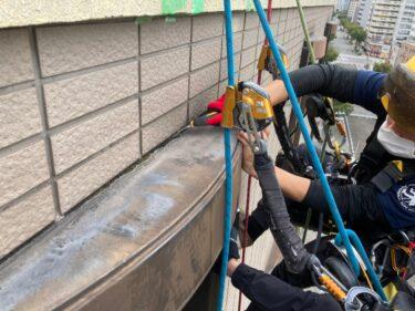 豊中市で出窓シール補修